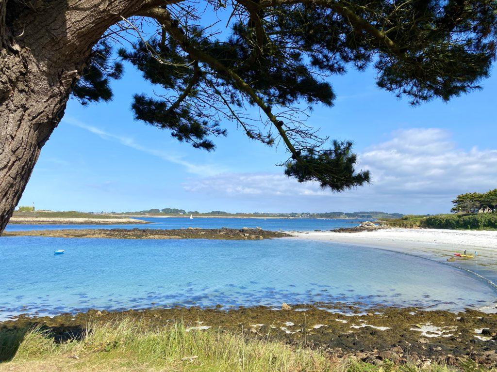 Location Maison Bretagne - Location d'une grande maison pour 10 personnes - location de maison avec piscine - location maison avec vue mer - Les paysages de l'Aber Wrac'h vous feront voyager !
