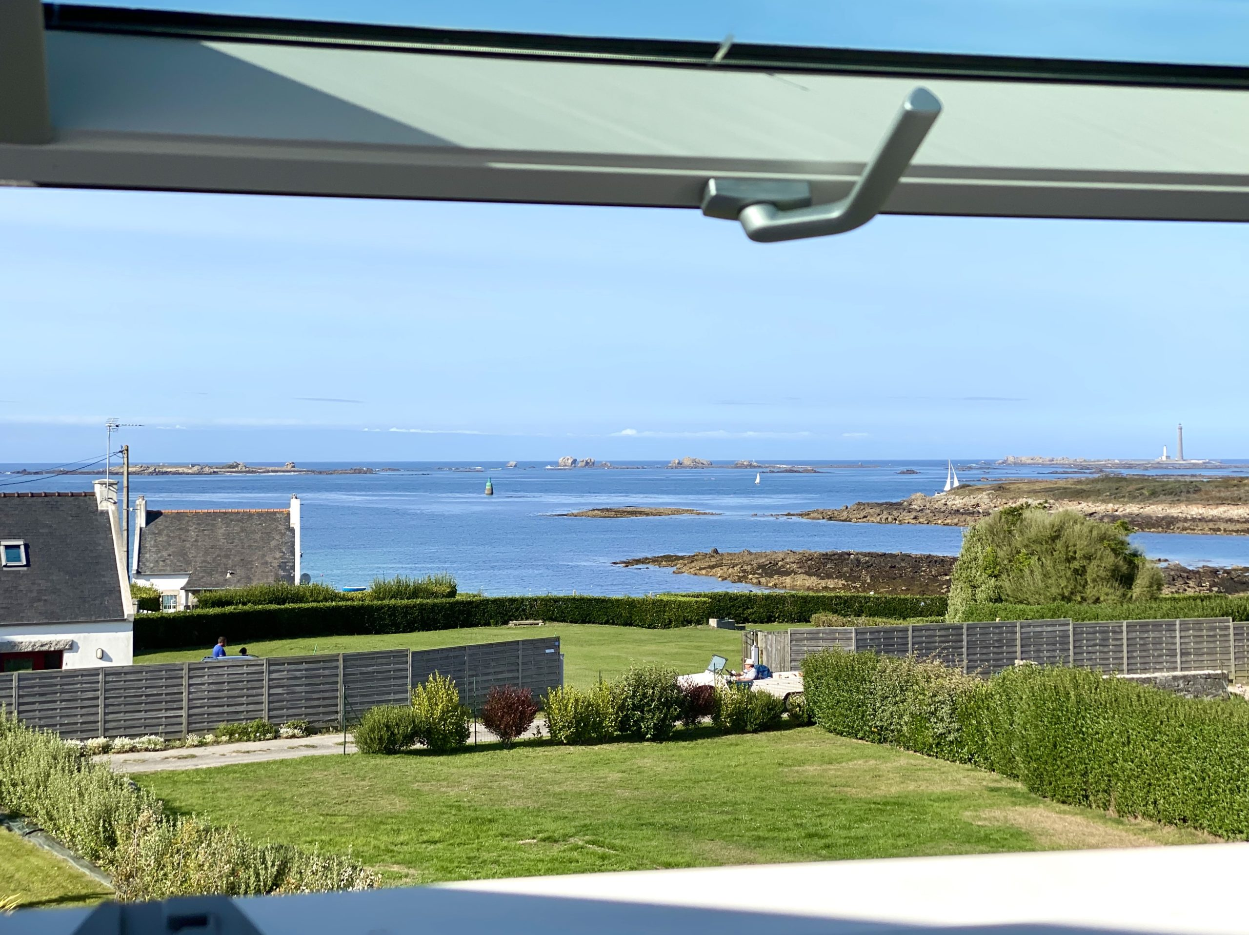 Sea view from the 2nd floor bedrooms